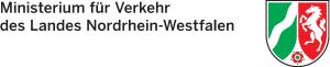 Das Logo des Ministeriums für Verkehrs des Landes Nordrhein-Westfalen